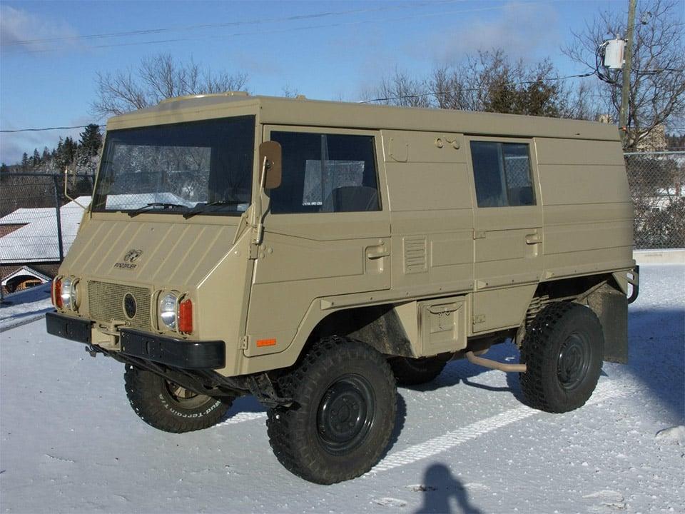 2017 Unimog Price >> 1976 Steyr-Puch Pinzgauer 710K for Sale on eBay - 95 Octane