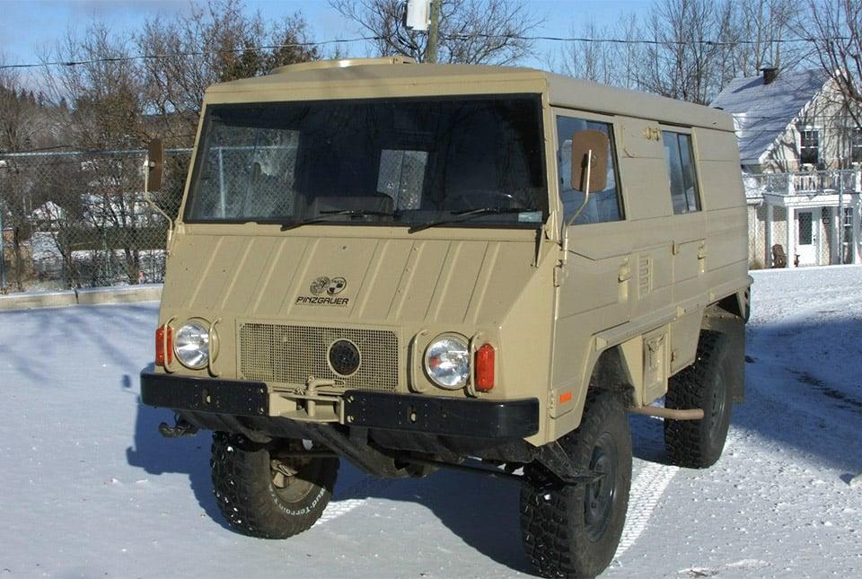 1976 Steyr-Puch Pinzgauer 710K for Sale on eBay