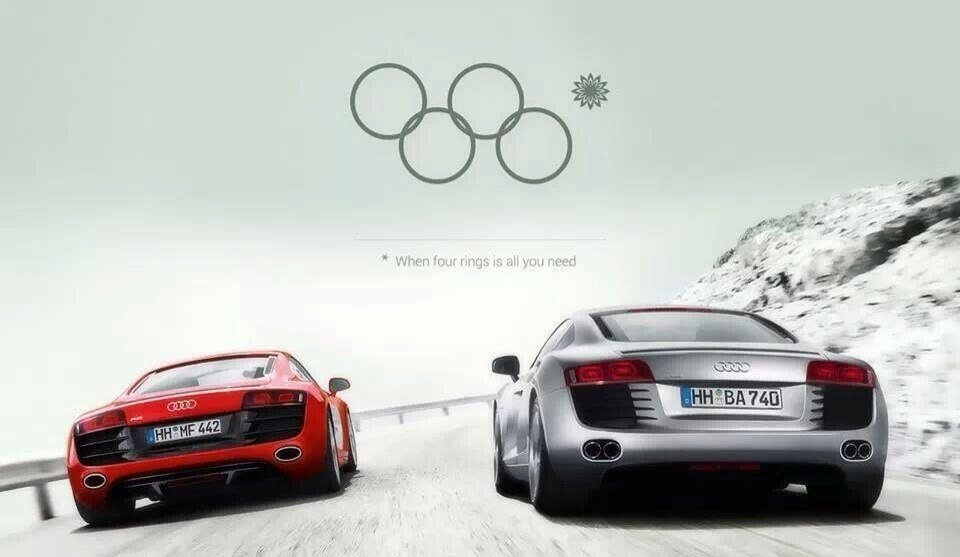 The Epic Audi Sochi Olympics Ad (That Wasn't)