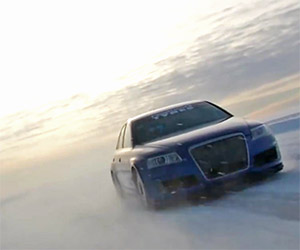 Audi RS6 Sets World Record Top Speed on Ice