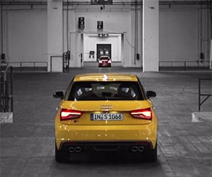Playing Chicken in the New Audi S1 and S1 Sportback