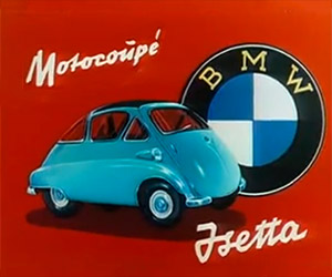 BMW Isetta Looks Fun in These 1950s Commercials