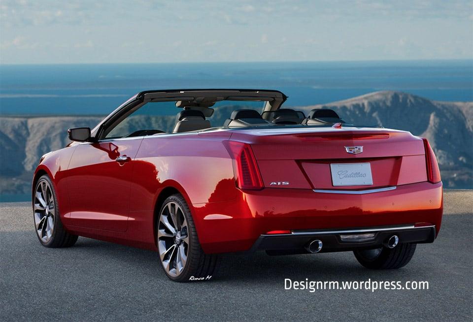 Cadillac ATS Convertible Envisioned - 95 Octane