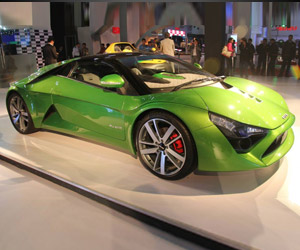 DC Design Avanti Sports Car Shown off in Delhi