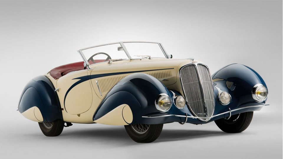 1937 Delahaye 135 Torpedo Roadster Auction