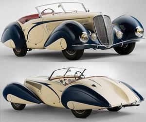 1937 Delahaye 135 Torpedo Roadster Auction