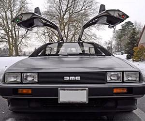 Regular Car Reviews: DeLorean DMC-12