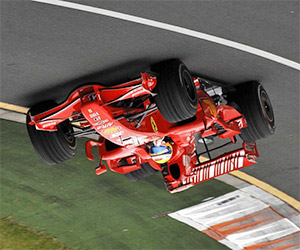 F1 Cars: Enough Downforce to Race Upside-Down?