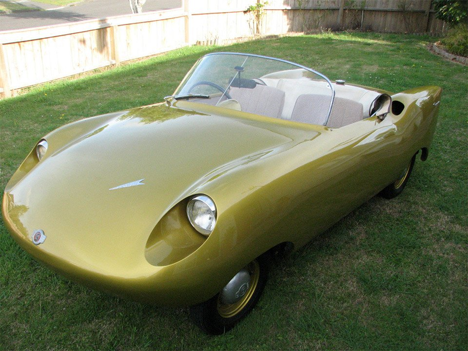 Rare 1957 Goggomobil Dart for Sale on eBay