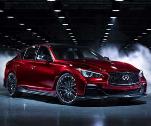 Infiniti Q50 Eau Rouge Sounds off