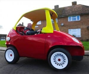 Little Tikes Cozy Coupe Gets Upsized