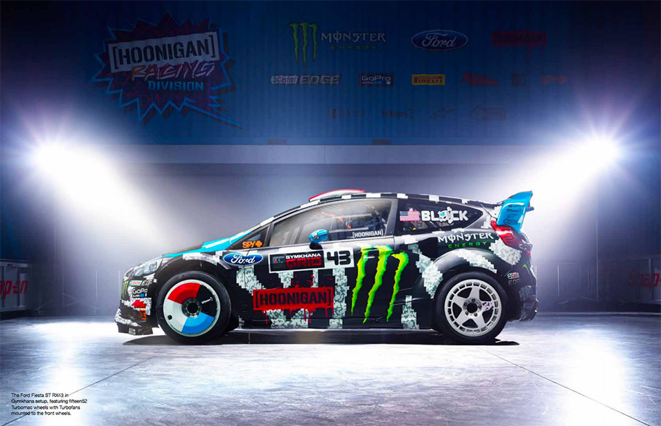 Ken Block's New 8-Bit Livery is Pixelly Terrific