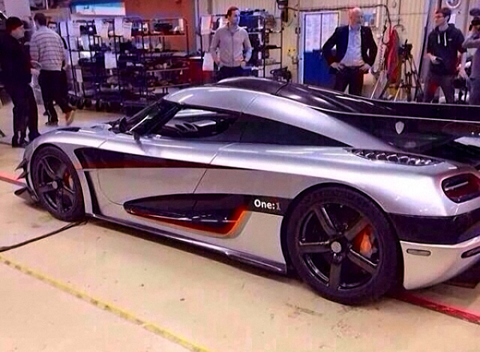 Koenigsegg One:1 Pics Leaked on Instagram