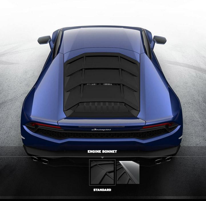 2017 Lamborghini Huracan Interior: Lamborghini Huracán Configurator Goes Online