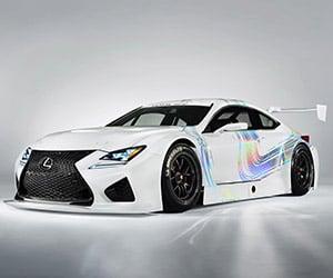 Lexus RC F GT3 Racing Concept Previewed