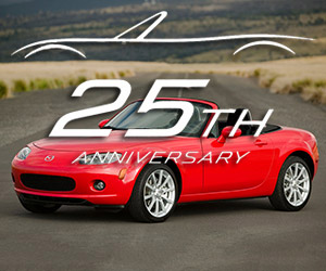 Mazda Celebrates 25 Years of the MX-5 Miata