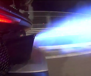 McLaren P1 Flamethrowers and More Fun