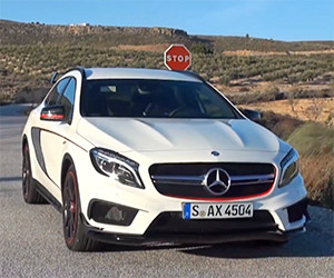 A Drive in the Mercedes-Benz GLA 45 AMG