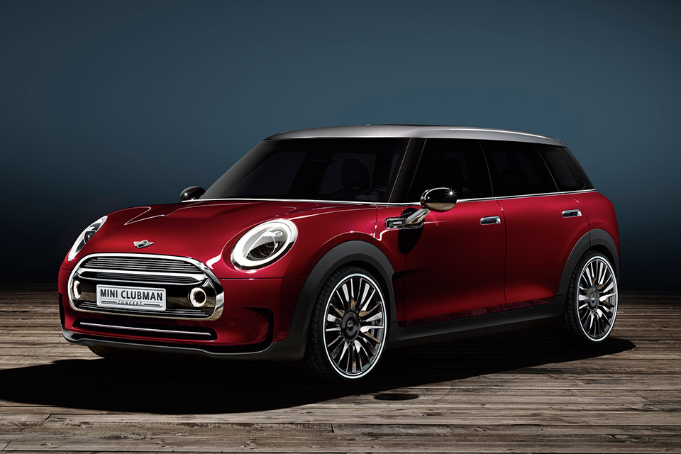 MINI Previews Clubman Concept Prior to Geneva