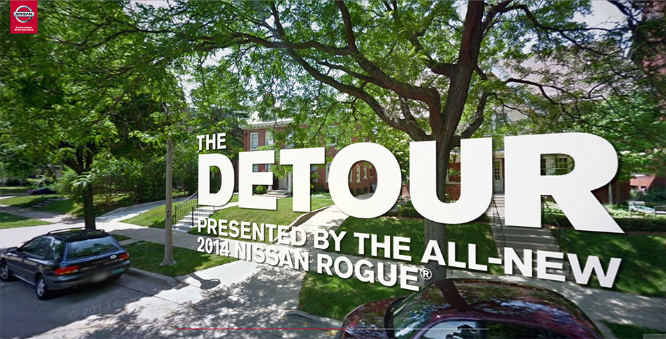 Detour: Take a Fantasy Test Drive in the Nissan Rogue