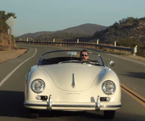 Driving a Porsche 356A Speedster