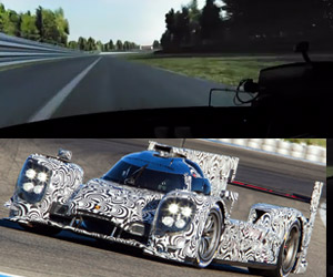 Porsche LMP1 Driving Simulator