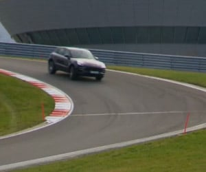 Porsche Macan Turbo Hits the Track