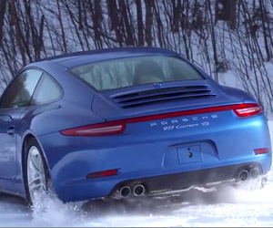 Porsche Winter Driving Experience 2014: Sugarbush