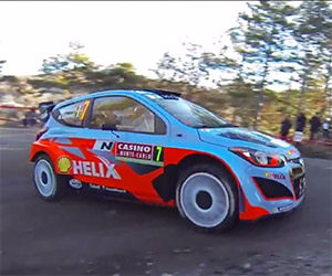 Rally Monte Carlo 2014 in Slow-mo