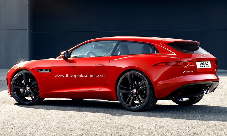 Whats With All The Shooting Brake Concepts 95 Octane