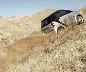 SMART Electric Goes Off-Roading, Badly