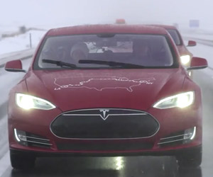 Tesla Completes Cross-Country Electric Rally