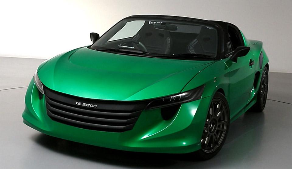 TE-Spyder 800 Hybrid Roadster Concept