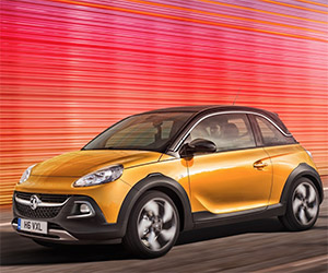 Vauxhall Adam Rocks to Debut in Geneva