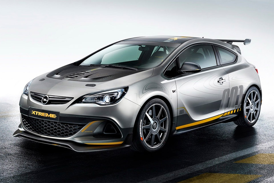 Opel Astra OPC Extreme Unveiled, May Even Be Built