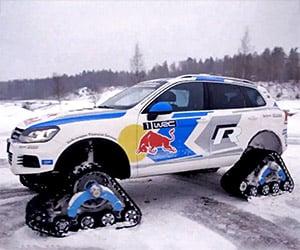 VW's Snow Supreme Touareg: the Snowareg