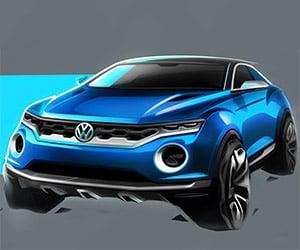 Volkswagen T-ROC Concept Headed to Geneva