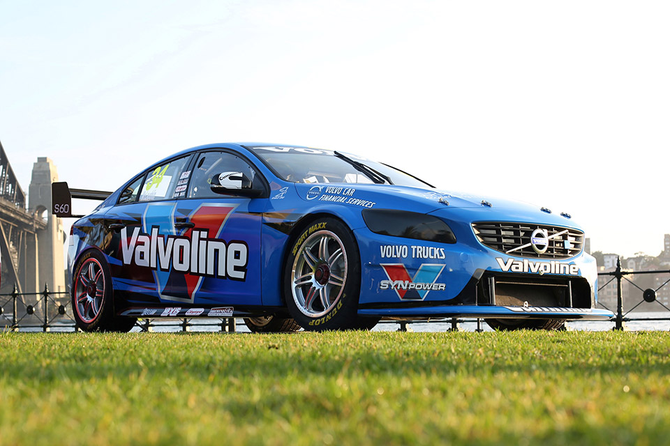 Volvo Racing's S60 V8 Unveiled in Sydney