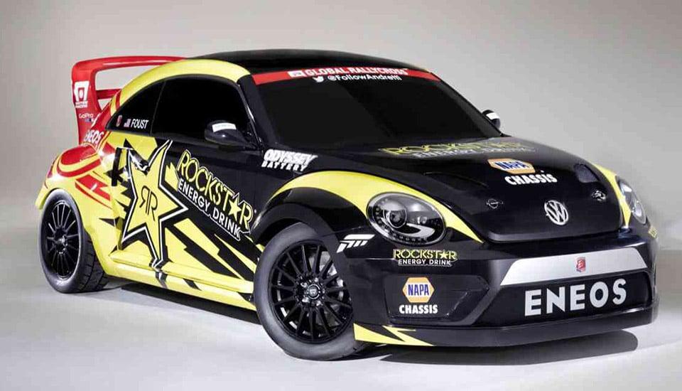 Rallycross VW Beetle Gets 600+ Horsepower