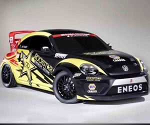 Rallycross VW Beetle Gets 600+ Horsepower