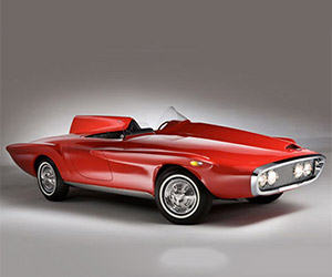 Concepts from Future Past: 1960 Plymouth XNR