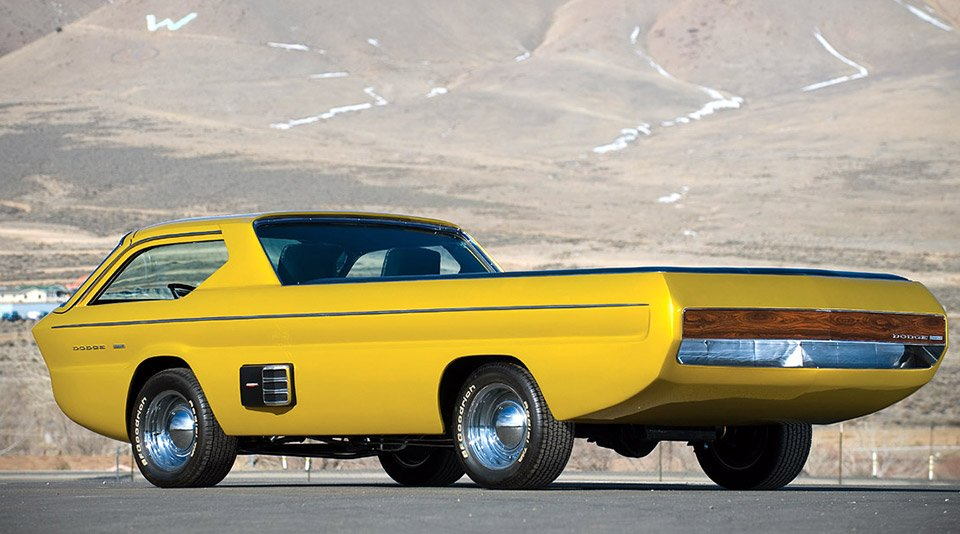 Concepts From Future Past 1965 Dodge Deora 95 Octane