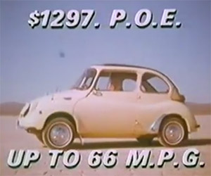 """From the Vaults: Subaru's """"Cheap & Ugly"""" Car"""