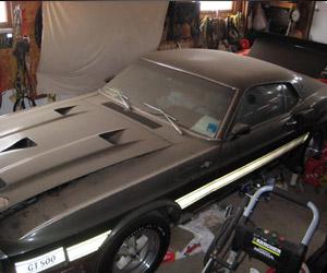 '69 Mustang Shelby GT500 Cobra Jet Found in Garage