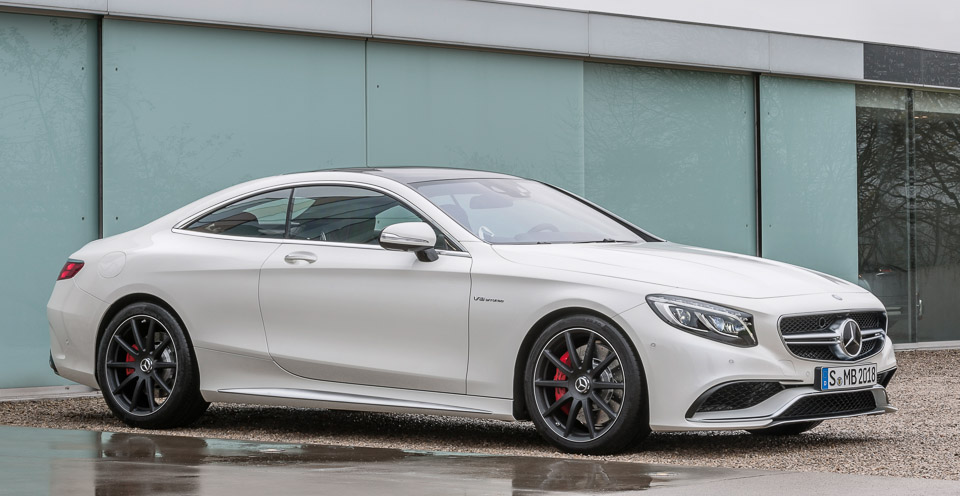 Benz S Amg Coupe on 95 mercedes s500