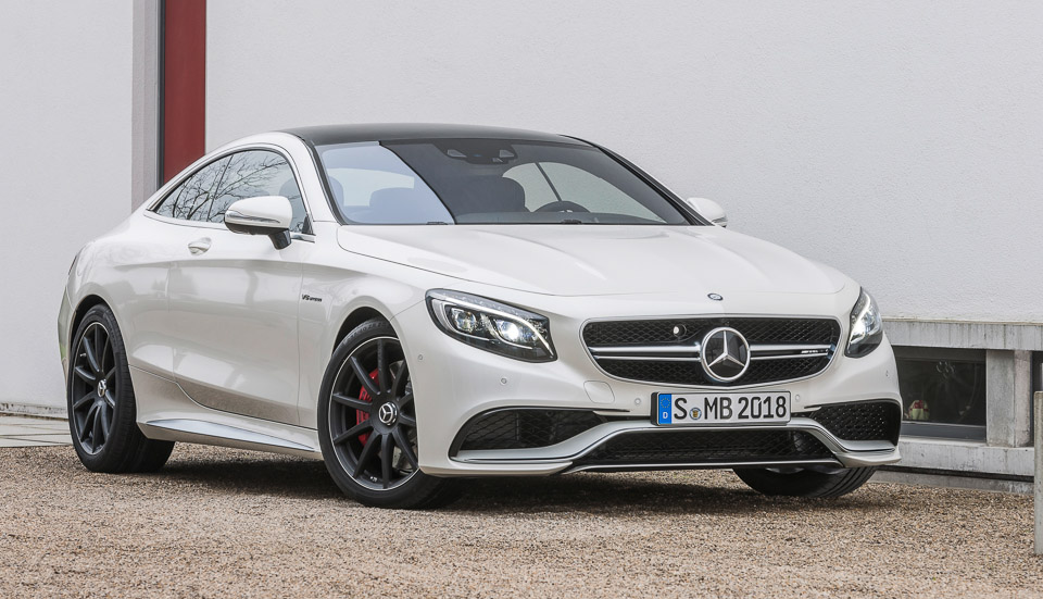 2015 Mercedes-Benz S63 AMG Coupé
