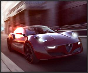 Alfa Romeo Doppiezza Hybrid Concept