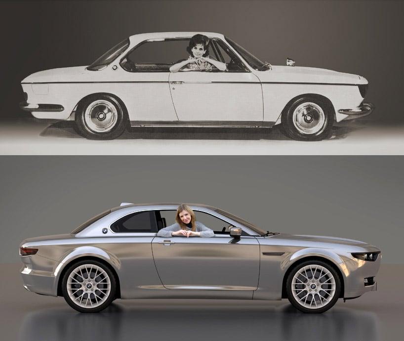 BMW CS Vintage Concept Recalls 1960s Design