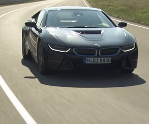 The BMW i8 in Action