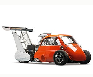 1959 BMW Isetta Whatta Drag: 730hp Microcar